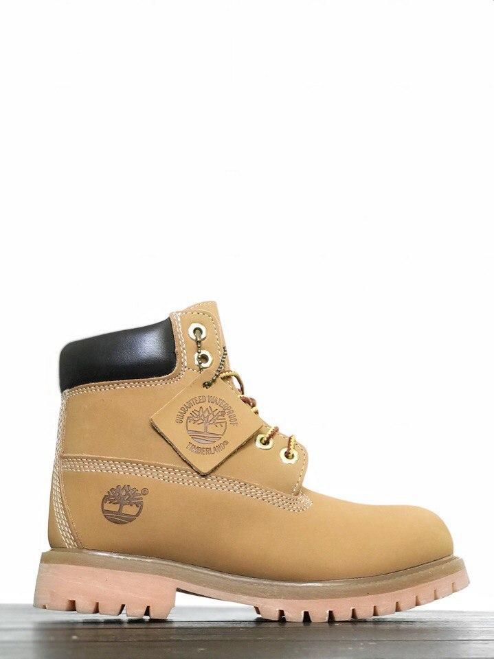 9bbb5d3f Зимние женские ботинки Timberland Boots Yellow ( Mex ) - Компания