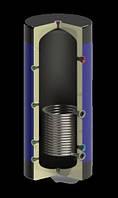 Емкость буферная Werden Classik УН 1500 л с утеплителем и нижним теплооменником