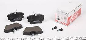 Колодки тормозные задние VW T4 1.9D / TD / 2.5 TDI 90-03 FTE - Германия