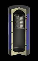 Емкость буферная Werden Classik УВ нст 4000 л с утеплителем и  теплооменником из нержавеющей стали