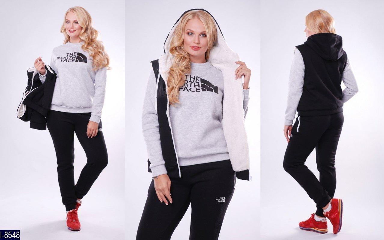 fc6b6824 Теплый спортивный костюм тройка 48-54 разные цвета, цена 1 250 грн., купить  в Одессе — Prom.ua (ID#603229569)