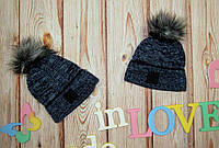 Детская зимняя шапка вязаная
