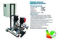 Станция повышения давления CH2CDLF8-6/EI1, бустерная станция VARNA