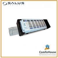 Центр коммутации Salus KL06 230V для системы отопления водяными теплыми полами