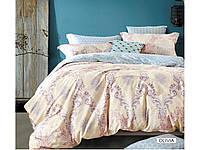 Полуторное постельное белье сатин печатный Arya Olivia AR29