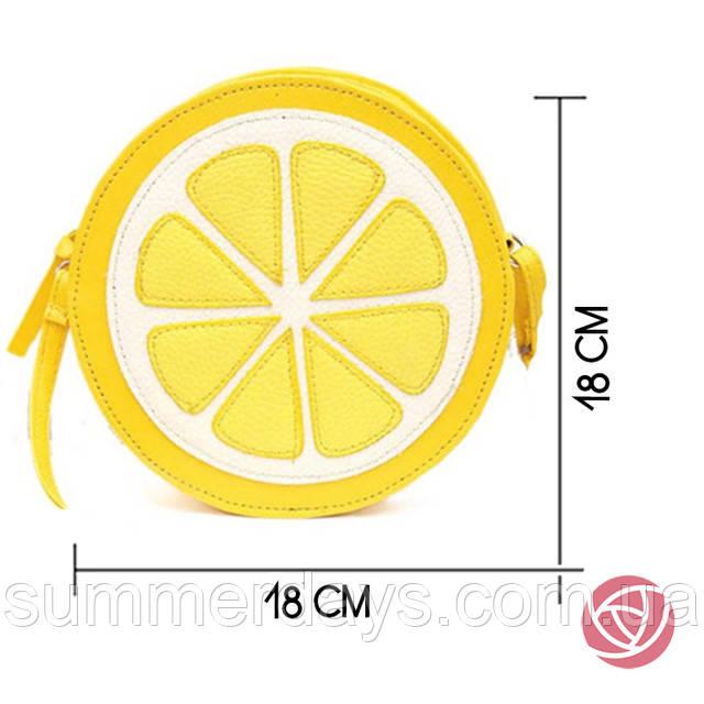 размеры сумки лимона