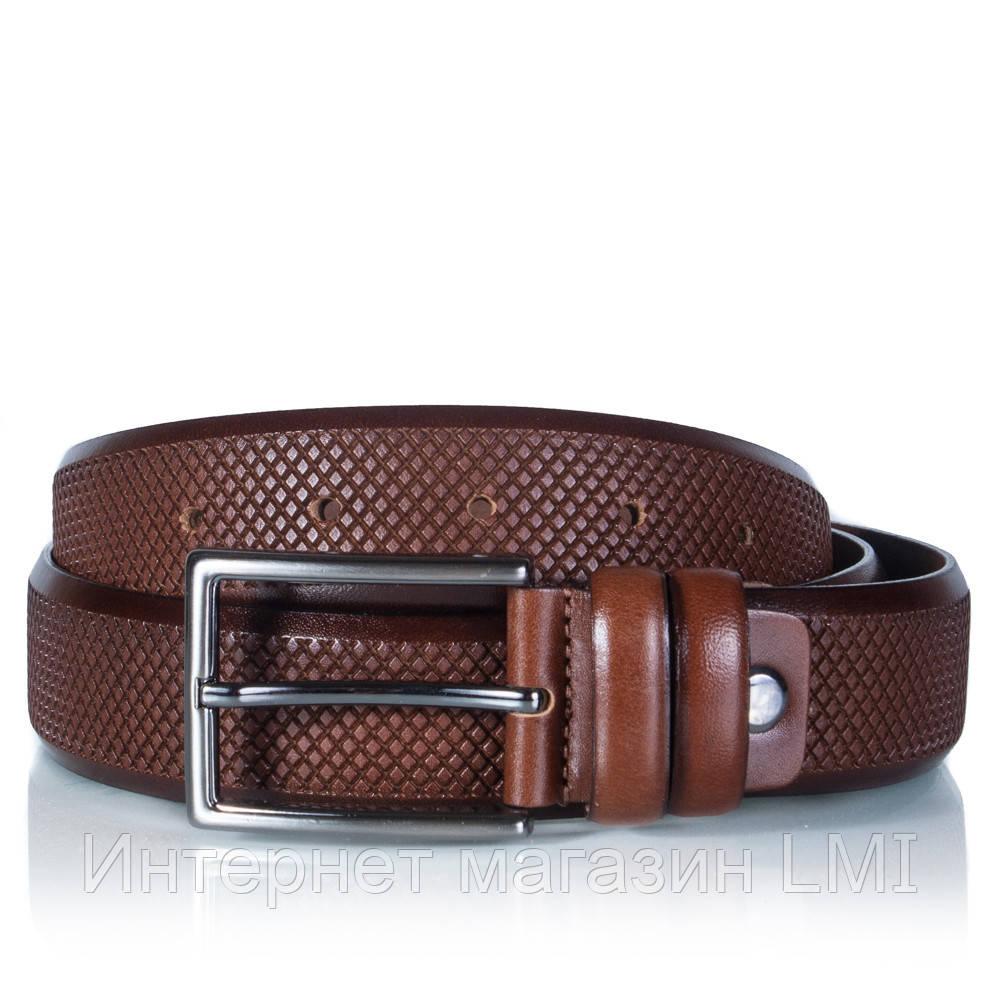 Купить ремень мужской кожаный коричневый купить ремень мужской для брюк песочного цвета 150*3, 5
