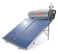 TS120 - бойлер на 120 L, 1.5kw + солнечный коллектор 2.0