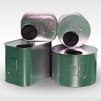 Коробка для зберігання зерна КХОЗ-2,5 л (квадратної форми)
