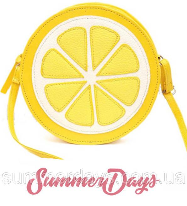 Сумка лимон