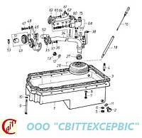 Двигатель Д 3900к  - Масляная ванна