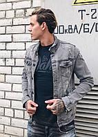 Куртка  мужская джинс 2Y 3075-1 осень