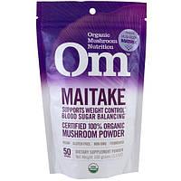 Organic Mushroom Nutrition, Грифола курчавая, грибной порошок, 3.57 унции (100 г)