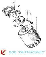 Двигатель Д 3900к - Фильтр масляный