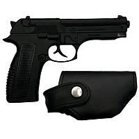 Зажигалка пистолет в кобуре. ZM33123