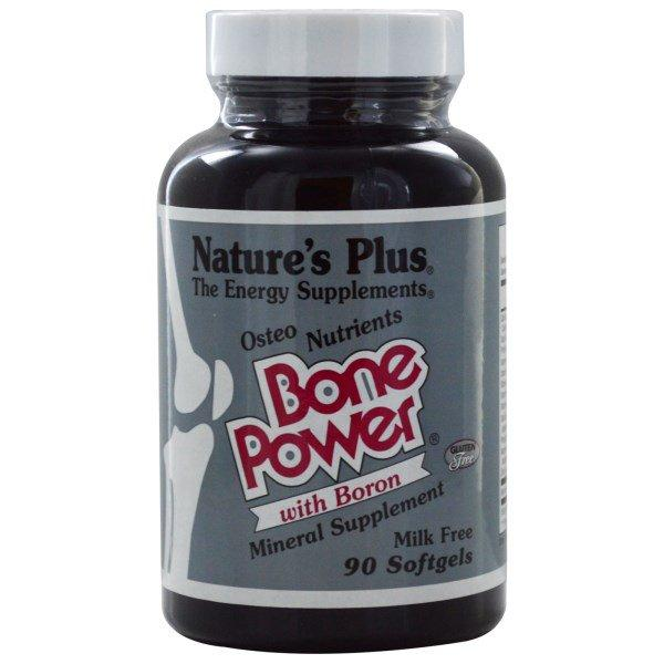 Nature's Plus, Bone Power with Boron, 90 Softgels