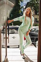 Женский спортивный костюм кофта-кенгурушка, фото 1