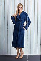 Бамбуковий довгий жіночий халат з поясом L&L TRACY dl