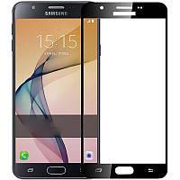 Стекло защитное 3D Samsung J5 Prime, Black