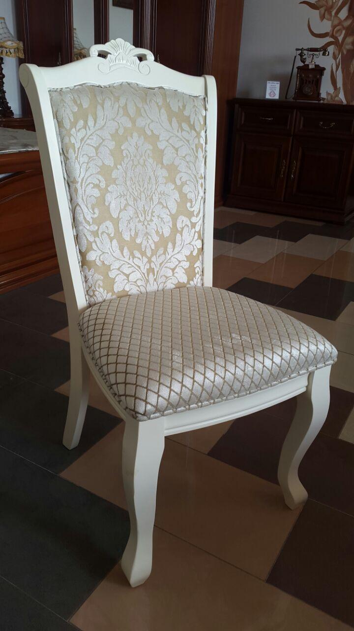 Стул Севилья (Белый) (ТК Цветок-Ромб)