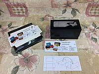 Коробка Черная для 2-ух кексов, маффинов с окном бабочка 170*85*90 , фото 1
