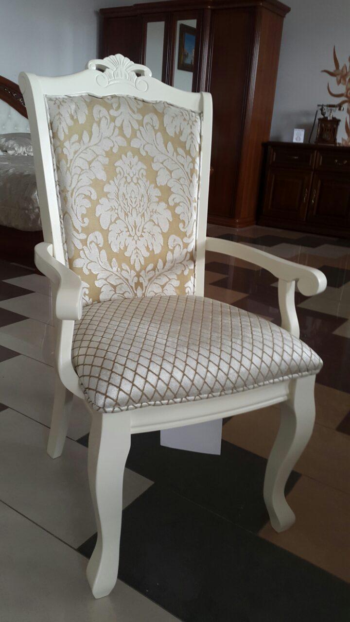 Кресло Севилья (белый) (ТК Цветок-Ромб)