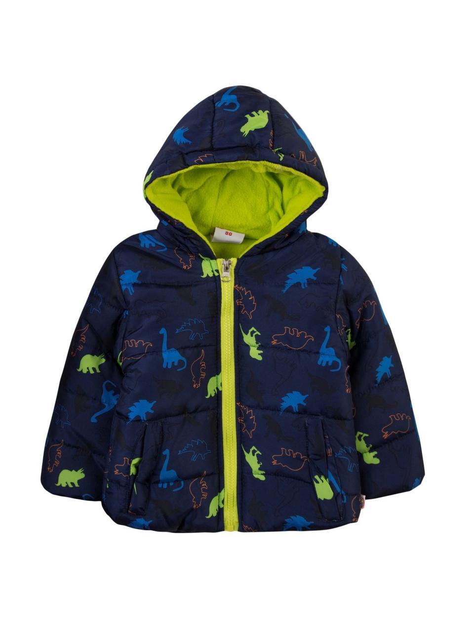 Детская демисезонная куртка на мальчика 1,5-2 года Польша Размер 86