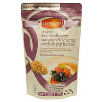 Linwoods, Ground Flax, Sunflower, Pumpkin & Sesame Seeds & Goji Berries, 8 oz (227 g)