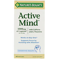 Nature's Bounty, Активный разум, 60 покрытых оболочкой каплетов
