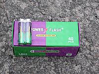 Батарейки Power Flahs Alkaline R3 микро пальчиковые ААА