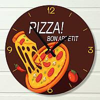 """Часы настенные на кухню - """"BON APPETIT"""" (на пластике)"""