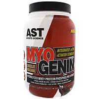 AST Sports Science, MyoGenin, Hydrolyzed Protein Phospholipid Hybrid, Chocolate Milkshake, 2.07 lbs (937.5 g)