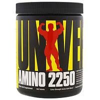 Universal Nutrition, Амино 2250, 100 таблеток