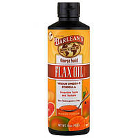 Barlean's, Омега-взрыв, пищевая добавка Льняное масло, Аромат манго, 454 г