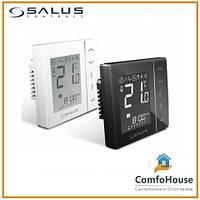Суточный цифровой термостат Salus VS35W/VS35B (белый/ черный)