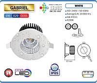 Точечный светильник GABRIEL 6W 4200K IP65 (влагозащищенный) HOROZ ELECTRIC