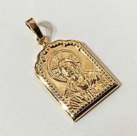 Подвеска иконка Иисус Xuping ювелирная бижутерия