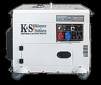 Генератор дизельний Könner&Söhnen KS 9200 HDES-1/3 ATSR