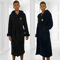 Махровый халат на парня подростка