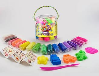 Тісто для ліплення Master-Do 18 кольорів Danko Toys (TMD-01-02)