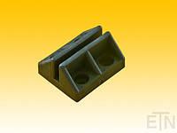 Башмак ETN-VS 60 TPU, с улучшителем скольжения MoS2, для рельсов 5 мм, для небольших грузовых талей и / или противовесов