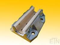 Качающийся направляющий башмак Тип 1500 SG, с эластичным промежуточным слоем, без направляющей втулки, подходит для вкладыша EM 5-20, БАСФ