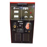 Сварка MAG-200, промышленный полуавтомат, максимальный ток сварки 200А, возможность работы 24 часа, возможность работы в низких условиях, стабилен,