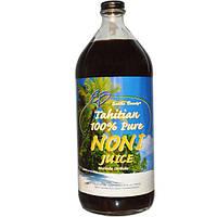 Earth's Bounty, 100% чистый сок нони Tahitian Pure Noni Juice, 946 мл