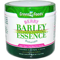 Green Foods Corporation, Berry Barley Essence, Potent Superfood Antioxidant Blend, 5.3 oz (150 g)
