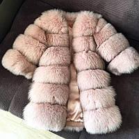 Меховая шубка-жилетка 011 Песец, фото 1