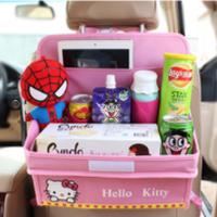Органайзер в автомобиль детский с раскладным столиком Оптом
