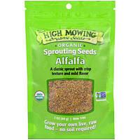 High Mowing Organic Seeds, Люцерна, 3 унции (89 г)