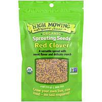 High Mowing Organic Seeds, Клевер луговой, пророщенные семена, 4 унции (113 г)