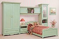 Спальня подростковая Селина (ольха зеленая)